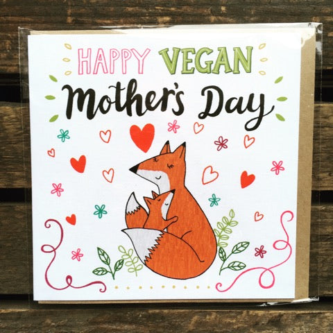 Vegan Mother's Day Card