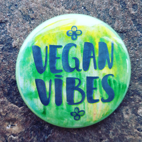 vegan fridge magnet