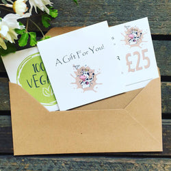 Vegan Gift Vouchers