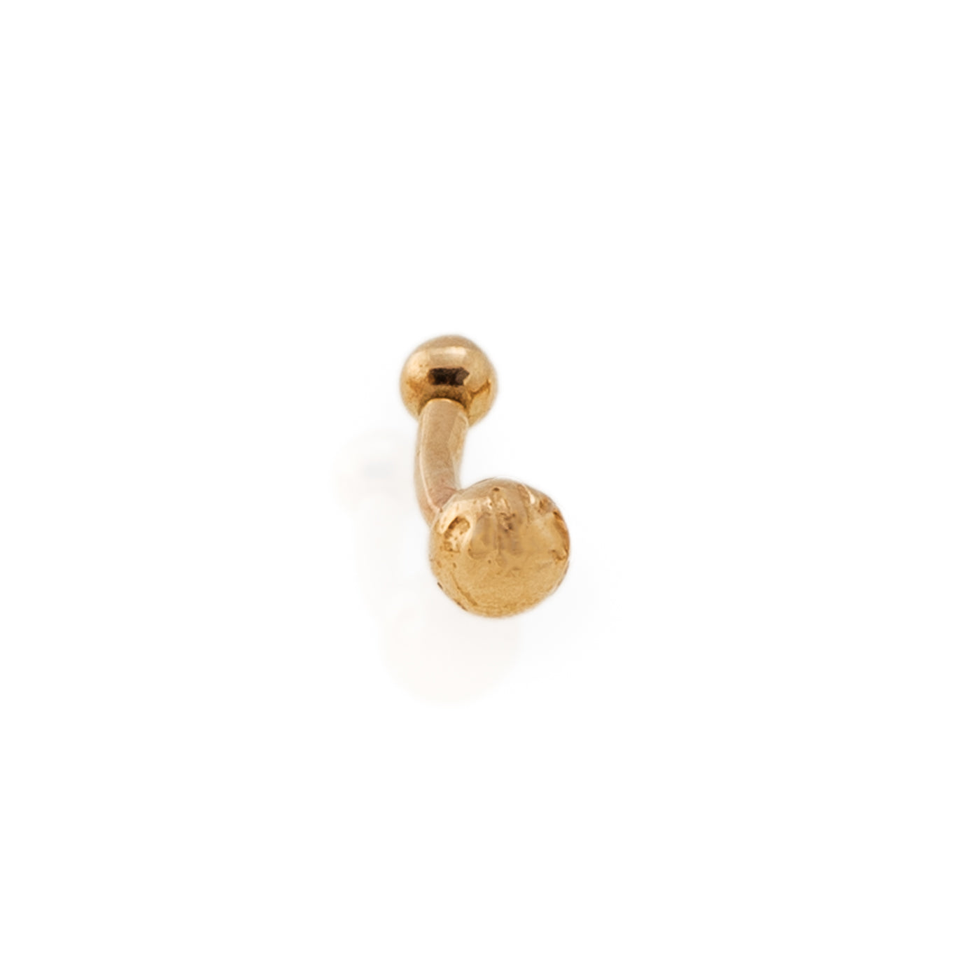 14k Gold Holiday Rook Earring