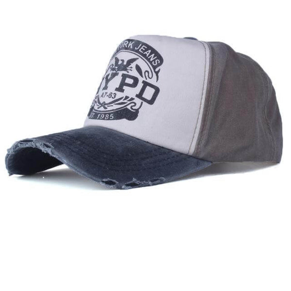 Casquette Snapback Americaine NYPD Unisex