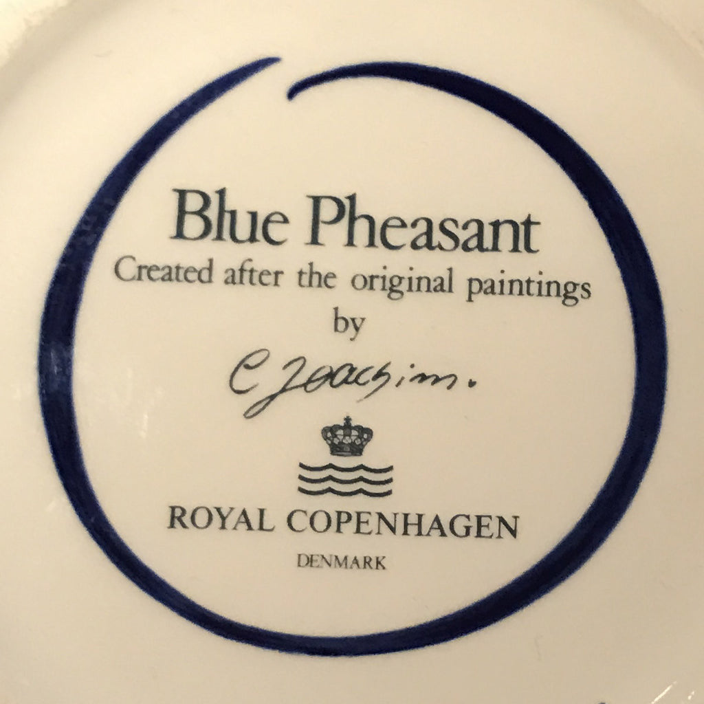 Blue Pheasant serving dish