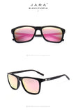 JARA Fashion Aluminum TR90 Polarized Sunglasses Women Eyewear Unisex 2017