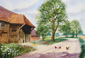 Chickens In The Lane