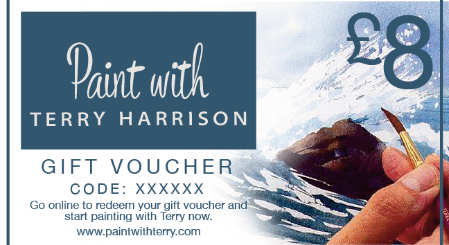 Paint With Terry Gift Vouchers