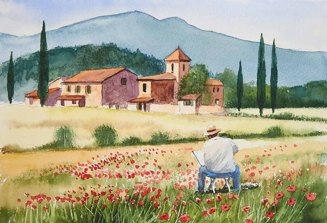 Poppy Field Painter