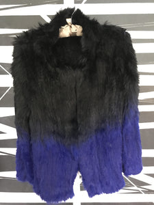 WILDFUR Blue/Black