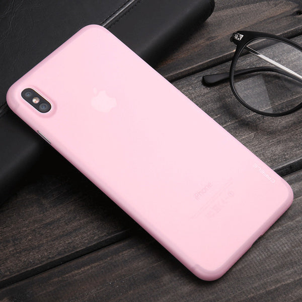 CAFELE Original Phone case for iphone X Ultra Thin Cute colors PP cases for Apple iphone X Fashion flexibility back Case - blackhead-shop