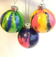 Hand-painted Glass Baubles