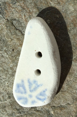 Sea pottery button
