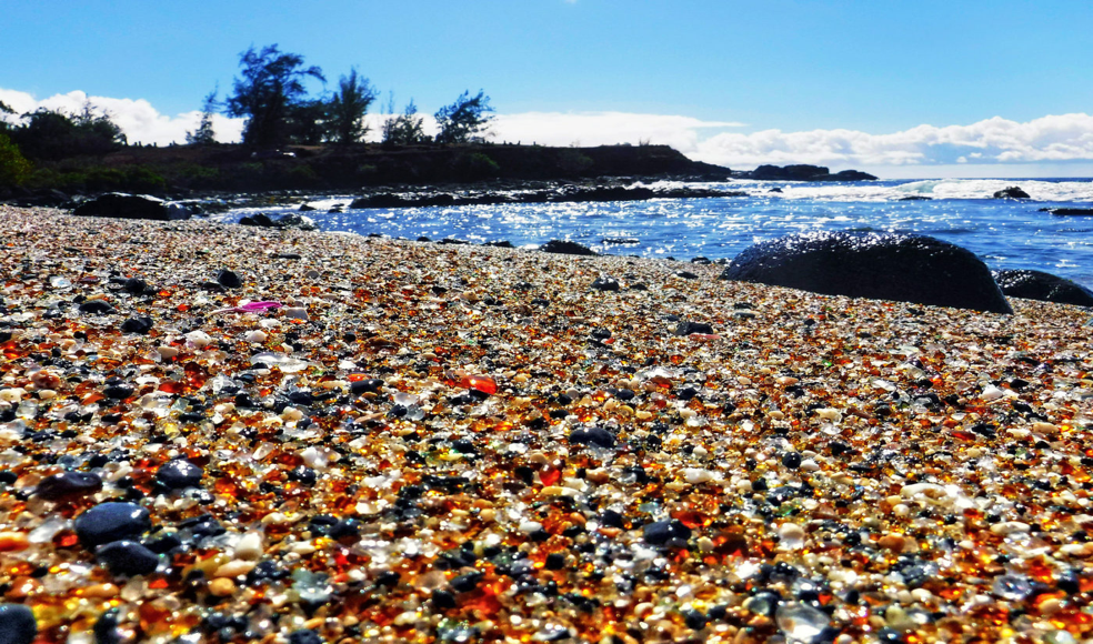 Glass Beach, Hawaii
