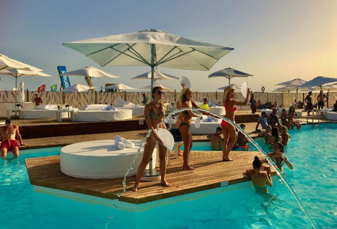 Blanco Beach Club, the Algarve