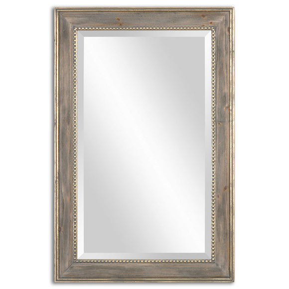 Burnished Pine Frame Mirror