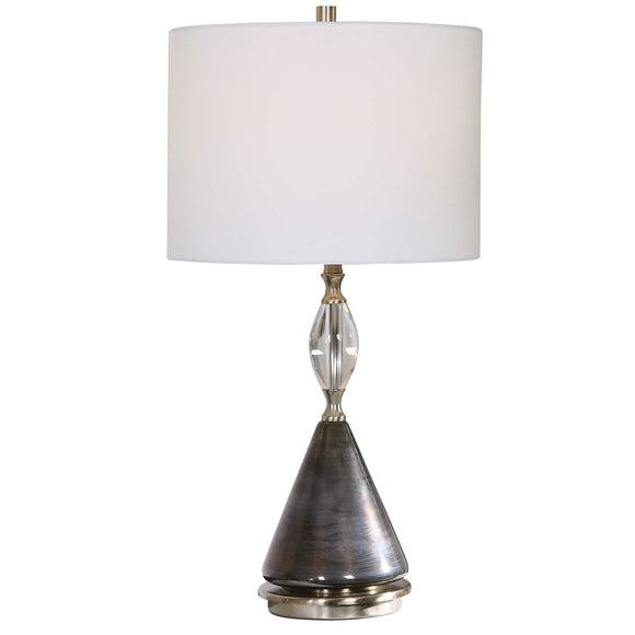 Oxidized Dark Bronze Table Lamp