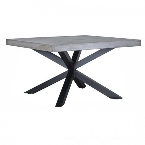 Concrete Top Square Dining Table