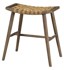 Wood & Hemp Counter Stool