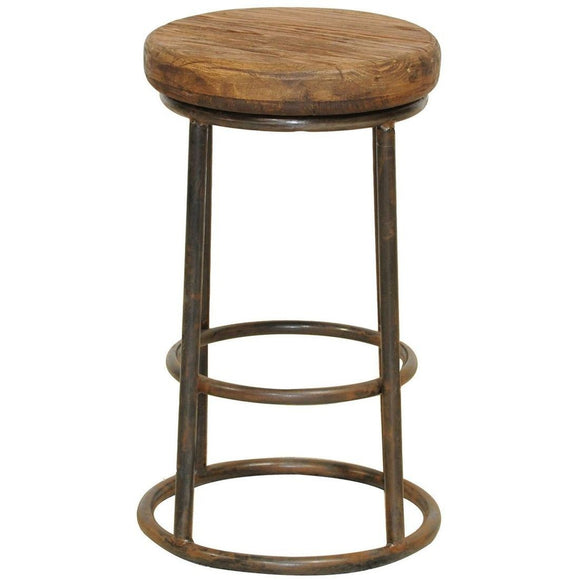 Iron Base Counter or Bar Stool
