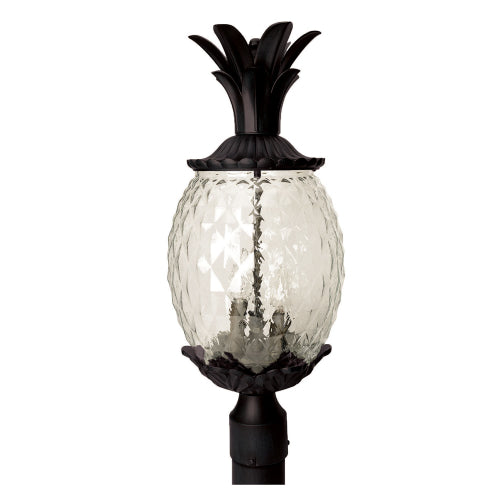 Outdoor Pineapple Post Lantern