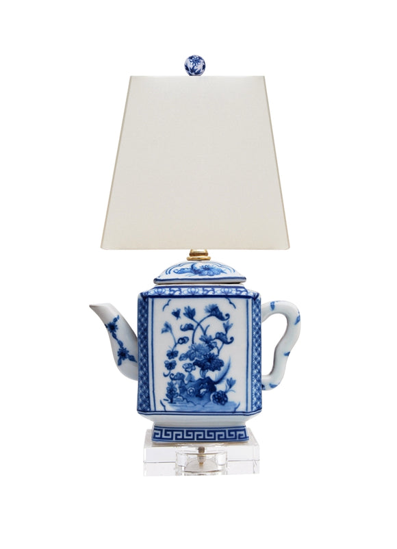 Porcelain Square Teapot Lamp