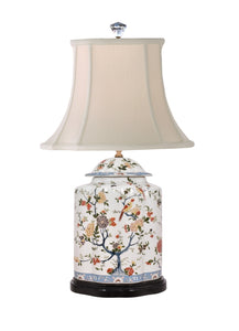Porcelain Scallops Jar Lamp