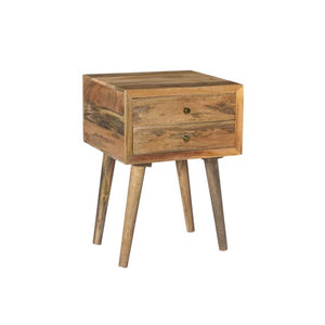 Natural Mango Wood Accent Table