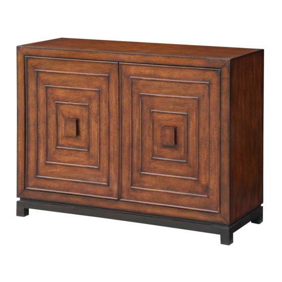 Cabinet With Patterned Doors