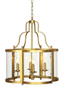 Hanging Lantern (Shown in Gilded Gold)