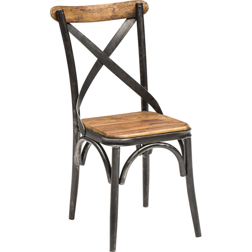Wood & Iron Side Chair
