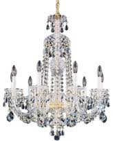Classic 6-Light Crystal Chandelier