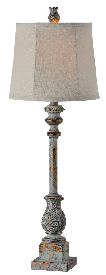 Distressed Buffet Lamp