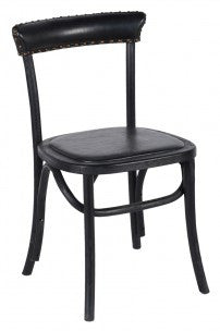 F1134 - Black Modern Chair