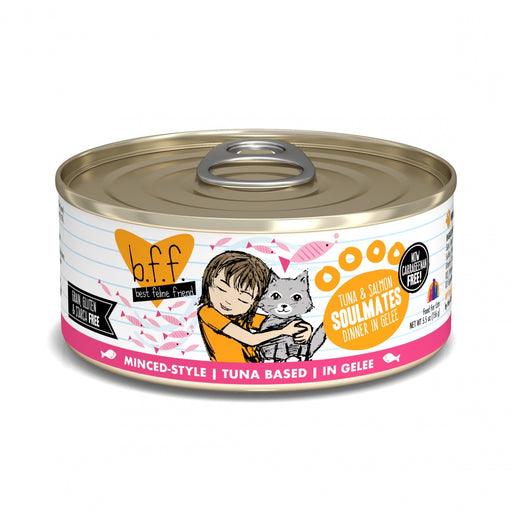Weruva BFF Tuna & Salmon Soulmates Canned Cat Food