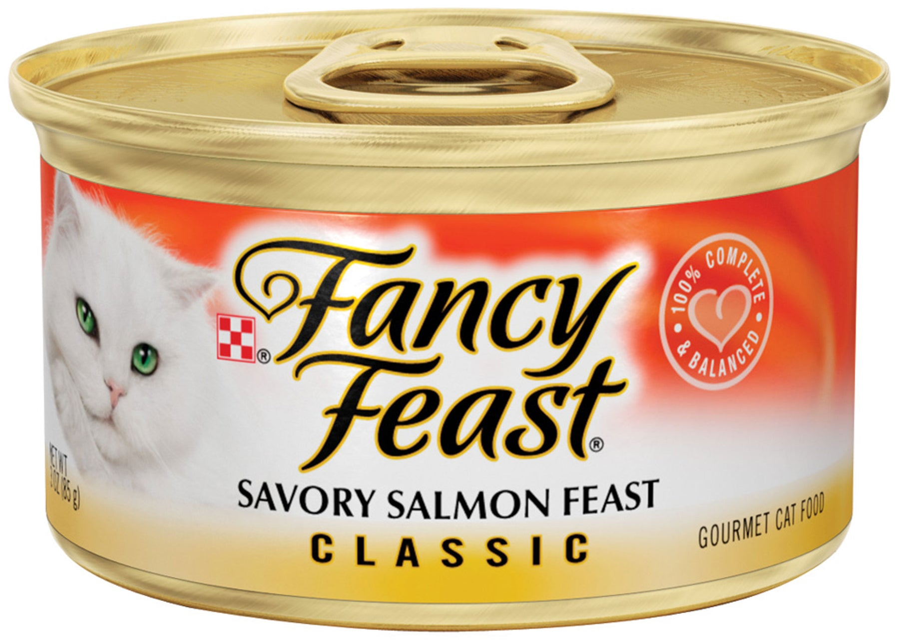Fancy Feast Savory Salmon Canned Cat Food