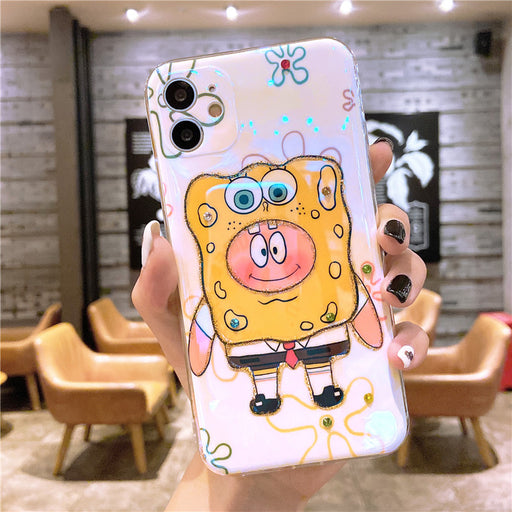 Creative Cartoon Mobile Phone Case  Lovely Lens