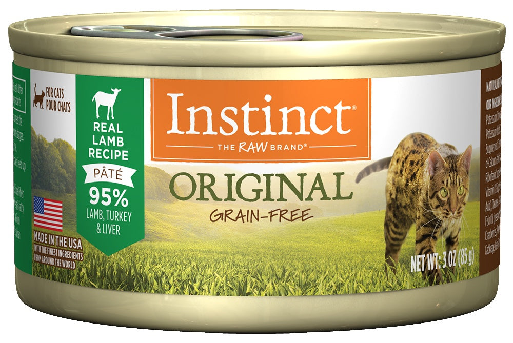 Instinct Grain-Free Lamb Formula Canned Cat Food