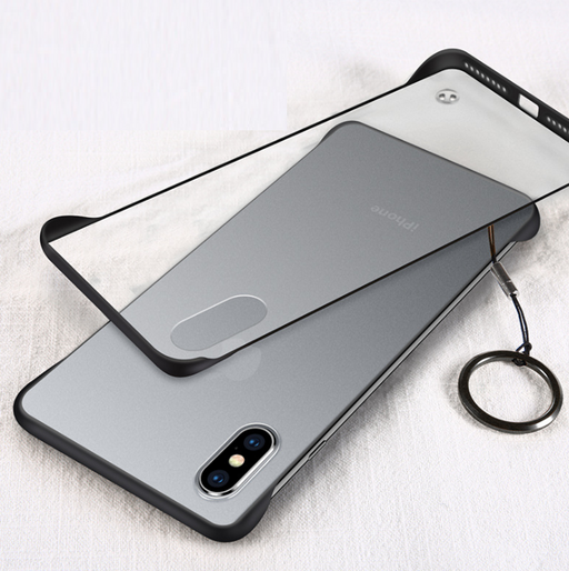 Borderless transparent phone case