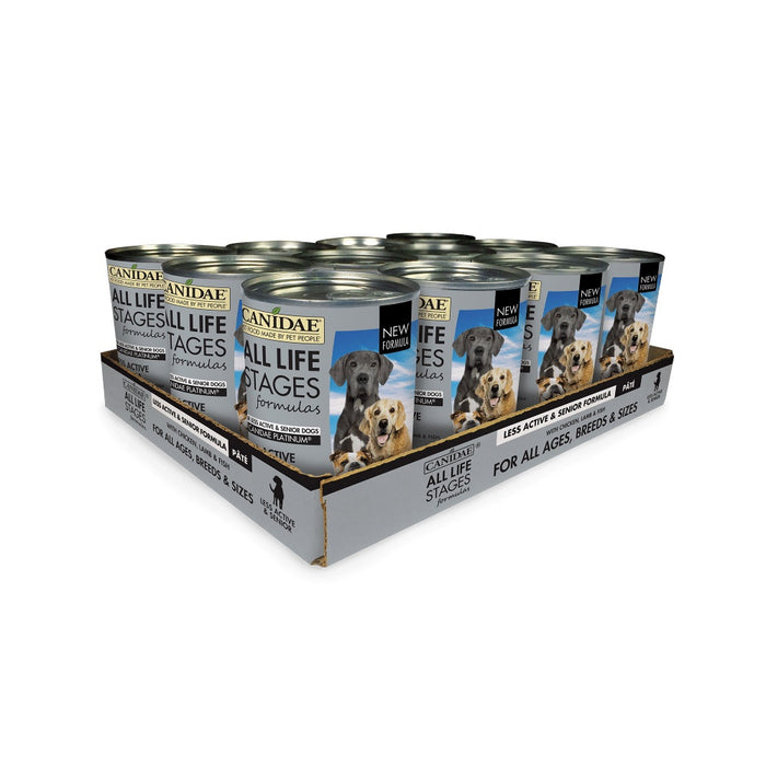 Canidae Platinum Formula for Seniors & Over Weight Dogs Canned Dog Food