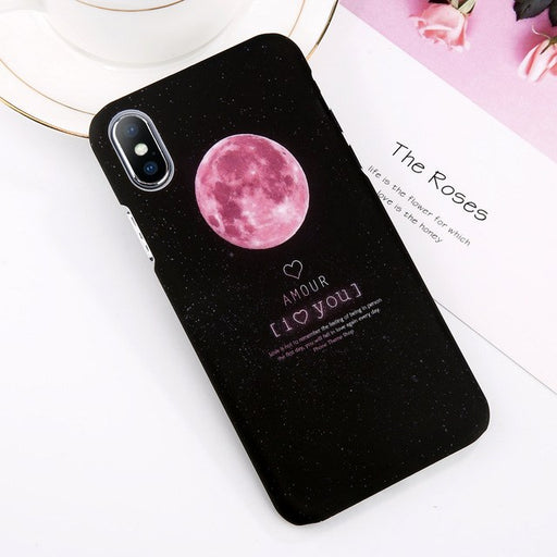 JOJO Phone Case For iPhone Moon (2 styles)