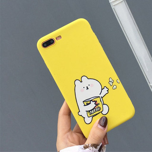Cartoon Bear Phone Case For iPhone (2 styles)