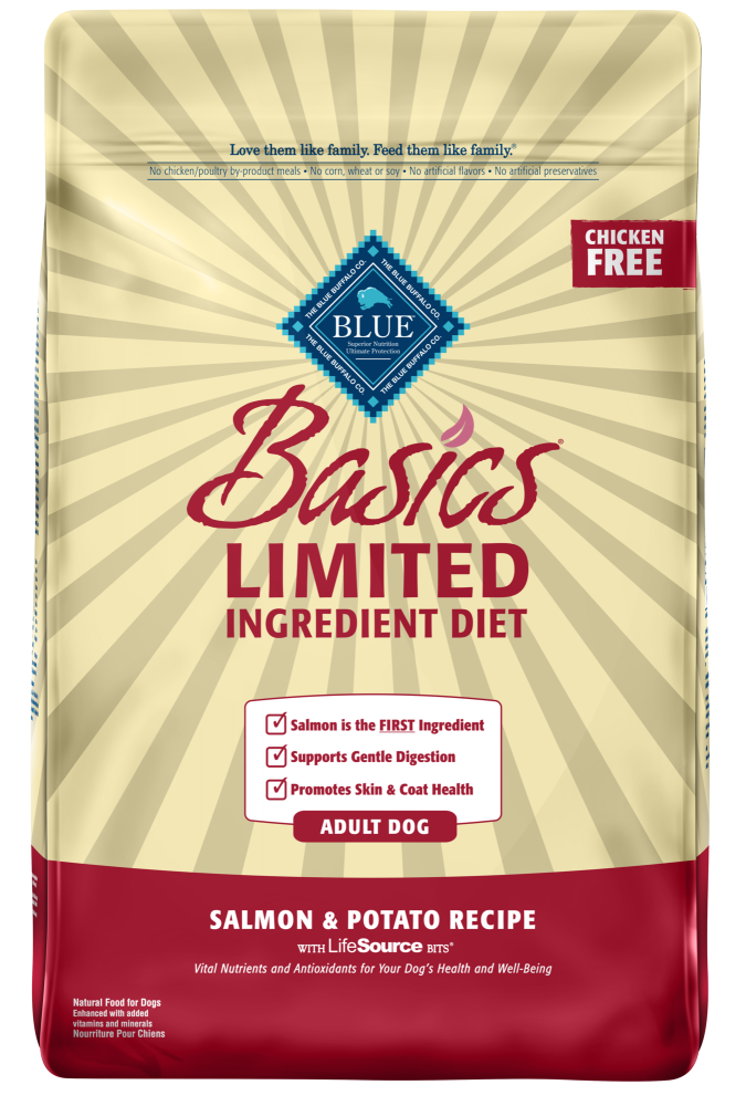 Blue Buffalo Basics Adult Salmon & Potato Recipe Dry Dog Food