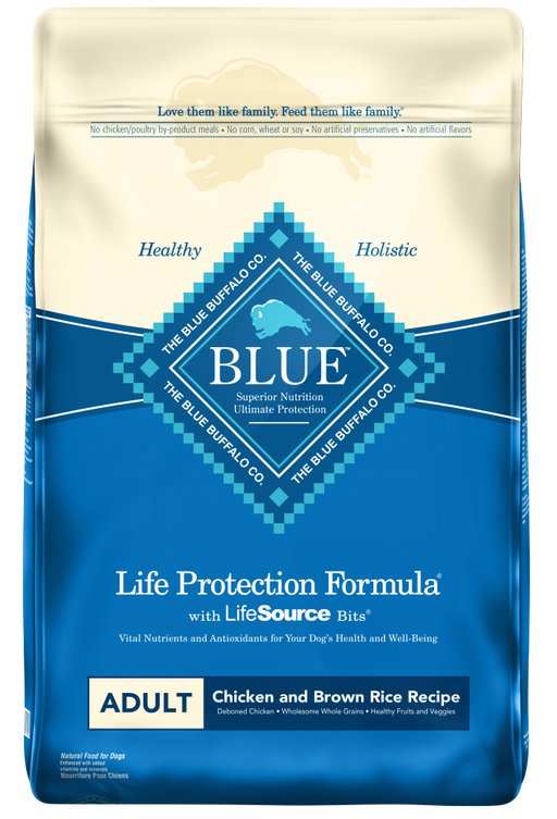 Blue Buffalo Life Protection Natural Chicken & Brown Rice Recipe Adult Dry Dog Food