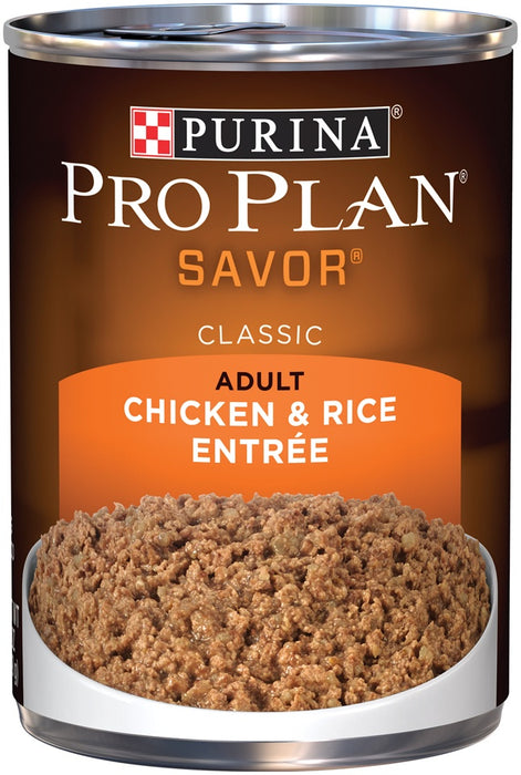 Purina Pro Plan Savor Chicken & Rice Entree Canned Adult Dog Food