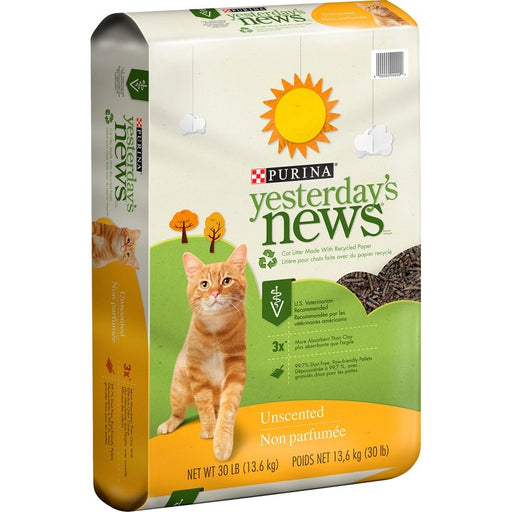 Yesterday's News Original Unscented Formula Cat Litter