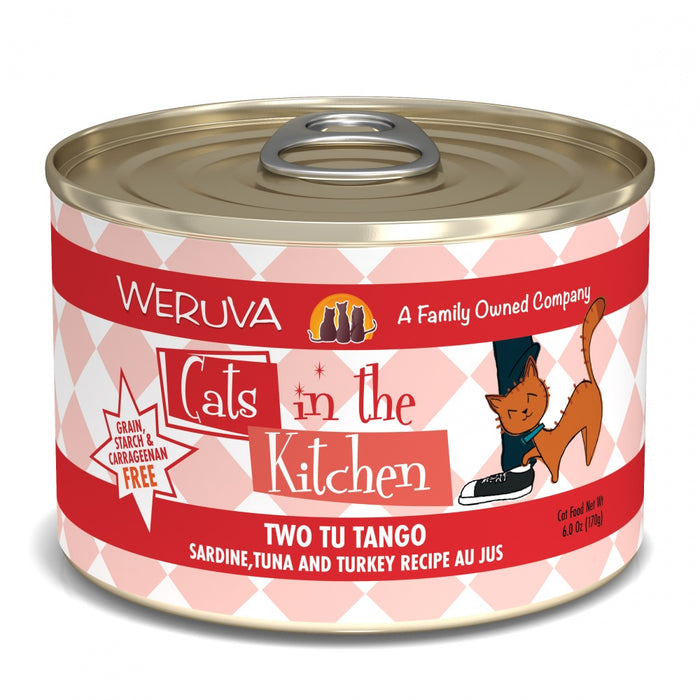 Weruva Cats in the Kitchen Two Tu Tango Canned Cat Food