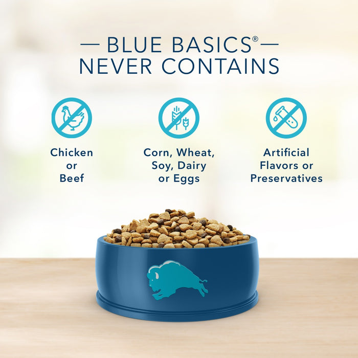 Blue Buffalo Basics Grain Free Adult Lamb & Potato Recipe Dry Dog Food