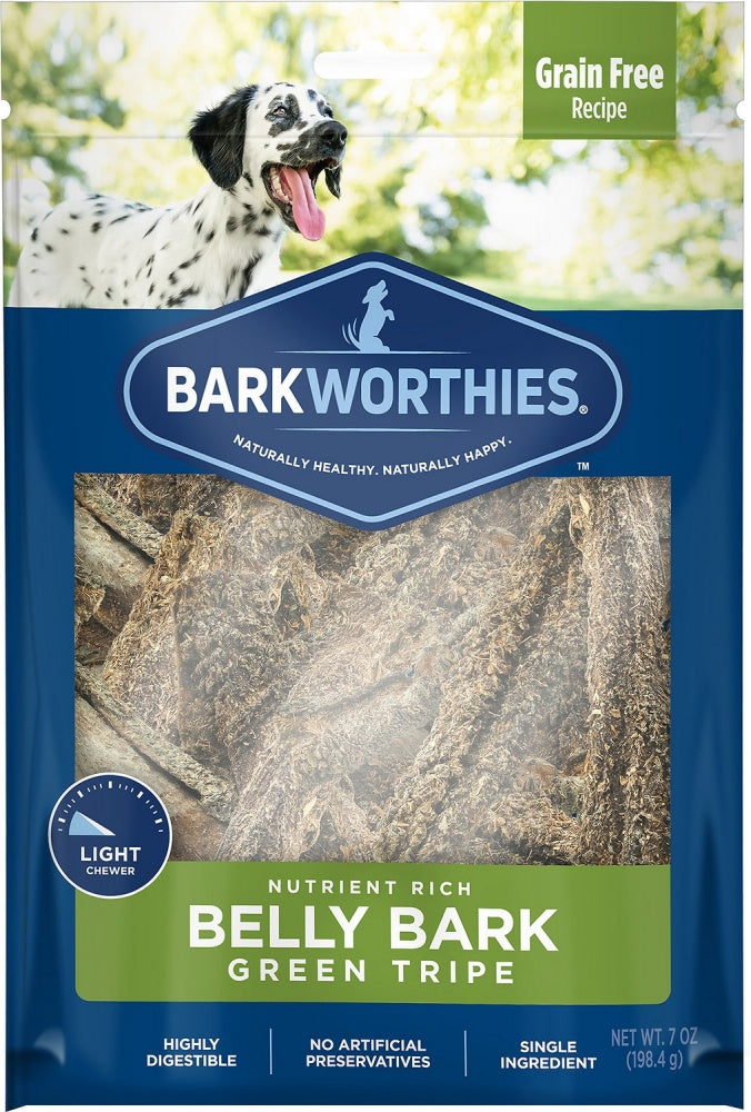 Barkworthies Green Tripe Sticks Dog Treats