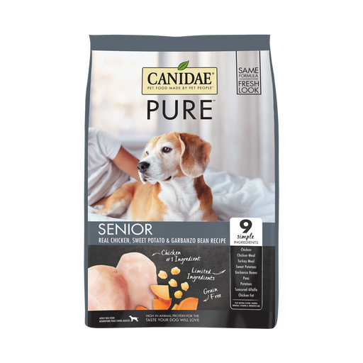 Canidae Grain Free PURE Chicken, Sweet Potato & Garbanzo Bean Recipe Dry Dog Food
