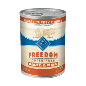 Blue Buffalo Freedom Grillers Hearty Turkey Dinner Grain-Free Canned Dog Food