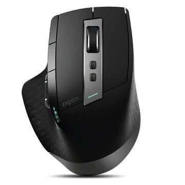 Rapoo MT750L Multi-Mode Wireless Mouse 3200DPI bluetooth 3.0/4.0 2.4GHz Wireless Rechargeable Optical Mouse for Computer Laptops PC