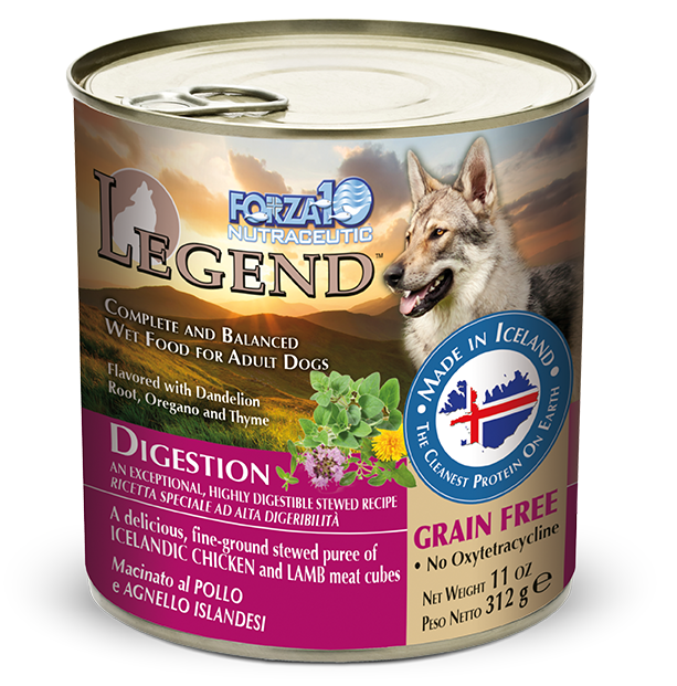 Forza10 Legend Digestion Chicken and Lamb Canned Dog Food
